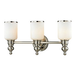 Elk Lighting - Elk Lighting-11572/3-Bristol - Three Light Bath Bar - Wattage: 100