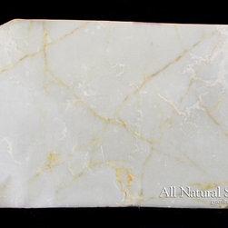 All Natural Stone - Onice Bianco Onyx Slab - Onice Bianco Onyx Slab. Perfect for Bathroom Counters.