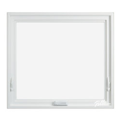 Pella® 350 Series awning window - ·Stronger and more durable than typical vinyl products