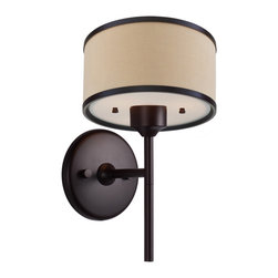 DVI LIghting - Dvi Lighting DVP5301MO-BTL One Light Wall Sconce - DVI Lighting DVP5301MO-BTL One Light Wall Sconce