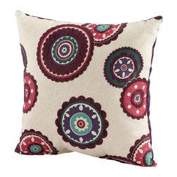 Cyan Design - Cyan Design 06525 Peony Pillow - Cyan Design 06525 Peony Pillow