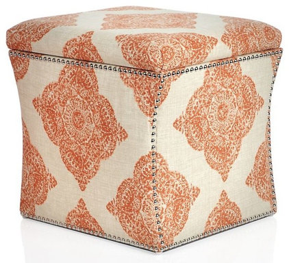 Contemporary Ottomans And Cubes by Z Gallerie