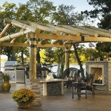 Rustic Patio by The Deck Store Online