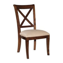 Kincaid - Kincaid Keswick Side Chair 83-063SKU: 83-063Collection: KeswickWeight(lbs): 22Volume: 4.4383-063 Side Chair- W 20 . D 24-7/16 . H 39 inSeat height: 18-1/4 inSeat depth: 18-3/8Manufacturer: Kincaid Furniture