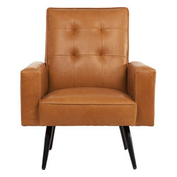 Phillipe Leather Chair - Stark Leather Chair