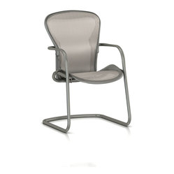 Aeron Side Chair with Titanium-Smoke Frame