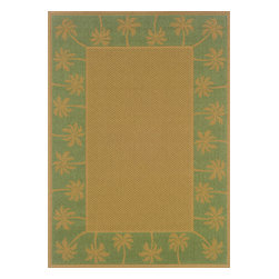"""Sphinx - Sphinx Lanai 606f Outdoor Rug - 5 ft 3 in x 7 ft 6 in - Oriental Weavers Sphinx Lanai 606f Area Rug . The Lanai Collection was inspired by the beauty and popularity of natural Sisal rugs. The multiple weaves and textures in each rug create fashionable, yet casual looks. The collection not only offers casual designs, but the inherently stain resistant fibers encourage a relaxed atmosphere to socialize with family and friends without the traditional worries associated with natural fiber rugs.Features: Casual designs inspired by sisal rugs, Multiple weaves and textures, Inherently stain resistantConstruction: Machine MadeMaterial: 100% PolypropylenePile Height: 1/8"""" - 1/4""""Please Note: Call for availability. Colors may differ from pictures.Please ask about getting a sample if you are unsure of color."""