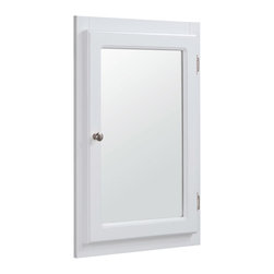 Medicine Cabinet Shaker Medicine Cabinets: Find Mirrored and Recessed ...