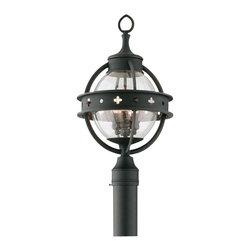 Troy Lighting - Mendocino 3-Light Outdoor Post Lantern - Mendocino 3-Light Outdoor Post Lantern
