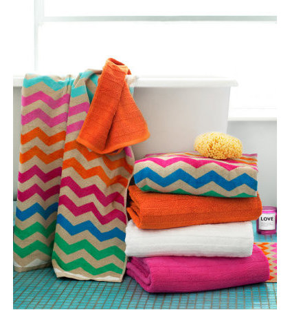 eclectic towels by H&M