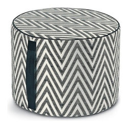 Missoni Home - Nossen Cylinder Pouf | Missoni Home - Design by Rosita Missoni.