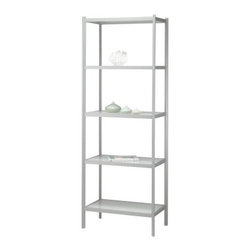 Adesso Aspen Five Shelf Unit - White/Light Grey - About AdessoAdesso was established in 1994 based on the belief that there was an under-served niche among consumers who sought high-quality, contemporary home products at moderate prices. Since then, Adesso has not only revolutionized the home industry with its products and service, but has also gained substantial recognition for its well-designed and well-priced lamps and RTA (Ready-To-Assemble) furniture, quickly establishing itself as an industry leader. Its collections represent a variety of home accents and furniture, including lighting, kids lamps, clocks, tables, chairs, coat racks, and screens. With these and all of its other innovative products, Adesso continues to shape the future of home design.