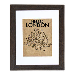 Hello London Art