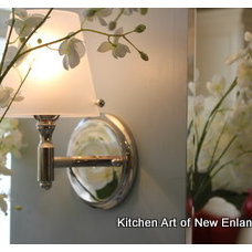 traditional bathroom lighting and vanity lighting by Kitchen Art of New England LLC