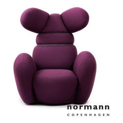 Normann Copenhagen Bunny Chair Purple - Normann Copenhagen Bunny Chair Purple