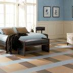 Marmoleum brand linoleum sheet flooring from Forbo -