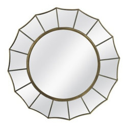 Threshold Starburst Mirror - Groups of decorative mirrors always make a statement, if they're the right scale. For a designer look, try a set of these 24-inch starburst mirrors. Whether over your bed, above your sofa or in your dining room, they're sure to create impact.