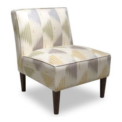 Manisa Neutral Armless Chair - The Manisa Neutral Armless Chair offers a touch of Southwestern flair with a warm, inviting appeal. This comfy chair features a soft pattern on linen upholstery. Rounded, tapered legs offer an espresso finish that adds the perfect contrast. Perfect for most any setting. Spot clean only.About Skyline Furniture Manufacturing Inc.Skyline Furniture was founded in 1948 with the goal of producing stylish, affordable, quality furniture for the home. After more than 50 years, this family-run business is still designing and manufacturing unique products that meet the ever-changing demands of the modern home furnishing industry. Located in the south suburbs of Chicago, the company produces a wide variety of innovative products for the home, including chairs, headboards, benches, and coffee tables.