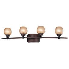 Minka-Lavery Cimarron 4 Light Bath in Dark Brushed Bronze 6244-267B