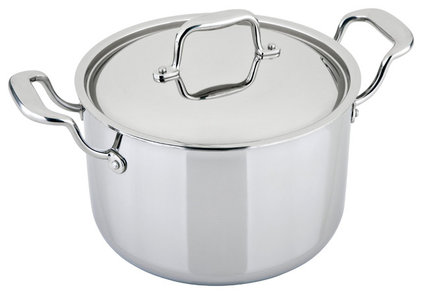 Contemporary Stockpots by Kitchen Riddles