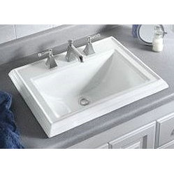 Kohler Memoirs Basin Sink Rectangular Vitreous China