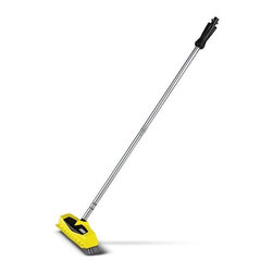 Karcher - Power Scrubber - This Hard surface cleaner PS40 Powerscrubber has three integrated high pressure nozzles for removing dirt quickly and efficiently. suitable for all surfaces and ideal for cleaning edges and corners. Suitable for Karcher Pressure washers models from K2-K5