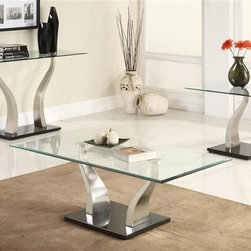 Homelegance - Atkins 3-Piece Occasional Table Set - Includes sofa table, cocktail and end table