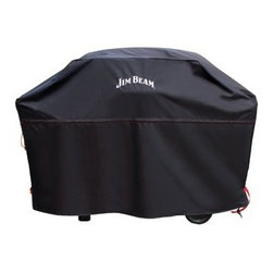 "JIM BEAM - JIM BEAM JB0300 60"" Grill Cover - Heat-resistant material; Heavy-duty construction; Adjustable locking straps;�Drawstring cords"
