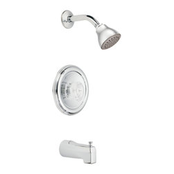 Moen - Moen 2363 Chateau Posi-Temp Tub Shower Finish Trim - The ever-popular Chateau series features rounded, modern styling and soft, clean curves, making it a proven classic.