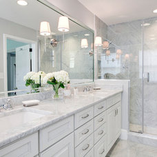 Traditional Bathroom by MA Allen Interiors
