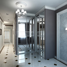 Contemporary Hall by END Designs Inc.