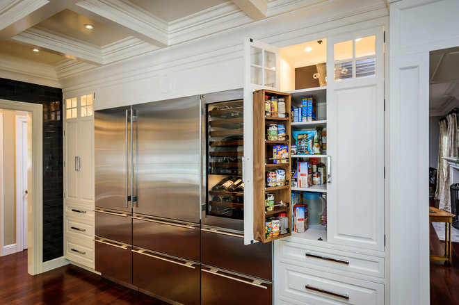 Traditional Kitchen Cabinets by Leslie Ann Interior Design
