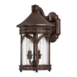 """Hinkley Lighting - Hinkley Lighting 2310-LED 15"""" Height LED Outdoor Lantern Wall Sconce Lu - 15"""" Height LED Outdoor Lantern Wall Sconce from the Lucerne CollectionFeatures:"""