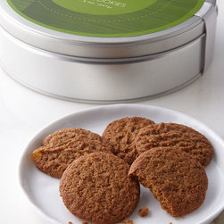NM EXCLUSIVE - Snappy Ginger Cookies - NM EXCLUSIVESnappy Ginger CookiesDetailsExclusively ours.Thin and crispy cookies full of real ginger pieces with a warm spicy finish.Signature Neiman Marcus packaging.Net wt. 8 oz.Made in the USA.Allergen Information: Contains dairy and wheat.