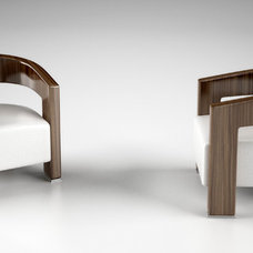 Contemporary Armchairs by Arquitek inc.