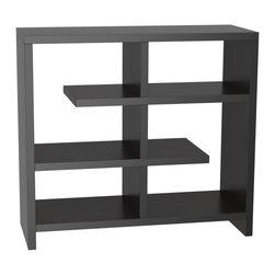 Convenience Concepts - Convenience Concepts Accent Table X-E790111 - The Northfield line by Convenience Concepts, Inc. is a beautiful edition to any home. Whether contemporary or traditional is the look you're going for, this 4 Tier Bookshelf with open design will create warmth as well as function. Attractive Espresso Wood Grain Finish. 4 Spacious Shelves. Divided Shelves Create a Unique way to Display Everything From Books to Collectibles. Easy Assembly, All Tools and Hardware Provided. Quality Construction will Provide Years of Enjoyment.
