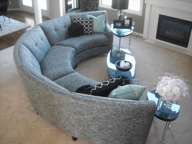 Contemporary Sectional Sofas by Room Candy LLC