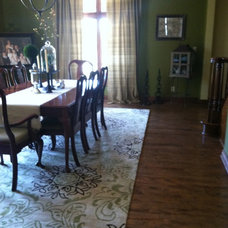 Traditional Dining Room by JDuce Designs