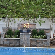 Pool / fire and water feature