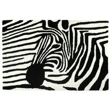 Contemporary Rugs Zebra On Zebra Rug