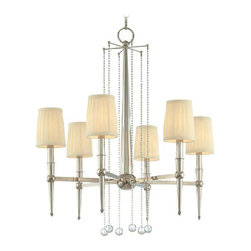 Modern Complete Copper and Fabric Shades Chandelier - http://www.phxlightingshop.com/index.php?main_page=advanced_search_result&search_in_description=1&keyword=9268