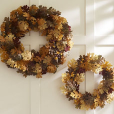 Contemporary Wreaths And Garlands by Pottery Barn