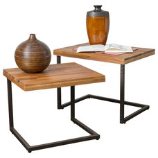 Industrial Side Tables And Accent Tables by Great Deal Furniture