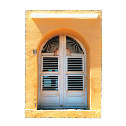 Murals Your Way - Beach House Window Wall Art - Photographed by John Jones, the Beach House Window wall mural from Murals Your Way will add a distinctive touch to any room