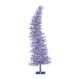 Silver Dazzling Diva Christmas Tree - A GLITZY AND GLAMOROUS SPIRIT IN TREETOPIA'S SILVER DAZZLING DIVA CHRISTMAS TREE
