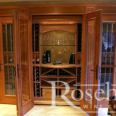 Traditional Wine Cellar by Rosehill Wine Cellars