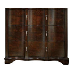 Hooker Furniture - Hooker Furniture Estate Three Drawer Accent Chest in Mahogany - Hooker Furniture - Accent Chests - 517585002 - Throughout the years antiques have been one of the greatest sources of furniture inspiration offering character timelessness and enduring appeal.