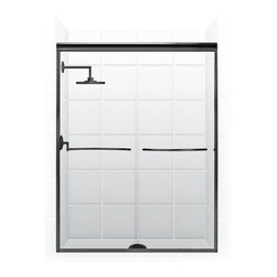 "Coastal - Shower Doors | Pararagon 1/4"" Frameless 