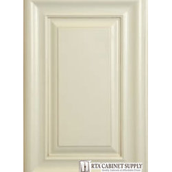 Cream White Glaze Sample Door - Cream White Glaze Sample Door...This sample will show color, glazing and finish details. It is returnable for a full refund less shipping charges.