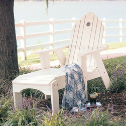 Uwharrie Chair - Uwharrie Chair Original Wood Arm Adjustable Lounge Chair - The classic look of traditional wood furniture adds a level of rustic sophistication to any patio. Utilizing time tested and proven construction methods and modern pressure treatment techniques Uwharrrie furniture is designed to last for years. Uwharrie's chair offer exceptional comfort as well as durability. The traditional designs can also be lightly or fully distressed to give the chairs the appearance of a treasured family heirloom.  Features include Lifetime Warranty Eco-Friendly All-Weather Natural pressure treated pine Premium polymer available Rustically styled outdoor furniture Classic look of wood material All-weather resistance to wet weather as well as rust Crafted for years of dependable outdoor use Offered in wide selection of wood colors Arm handles are offered for comfort and style Commercial Grade.